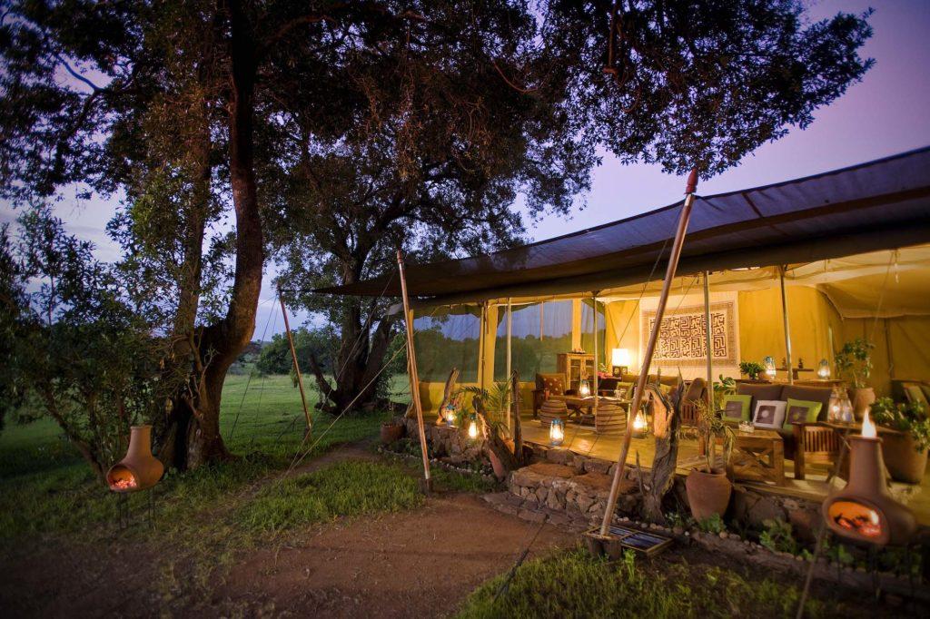 Kenya - Mara North Conservancy - 12890 - Kicheche Mara Camp at night