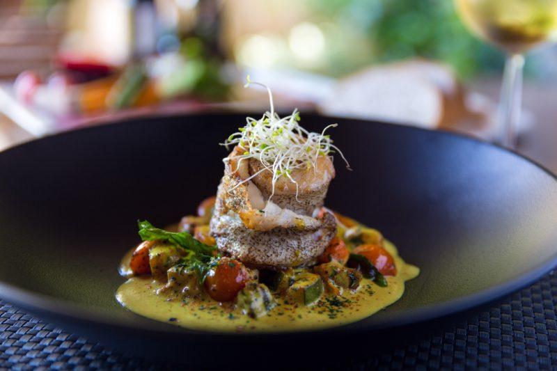 Seychelles - Mahe Island- 1554 - Maia Luxury Resort & Spa - Tec - Tec Restaurant - Fine Dining