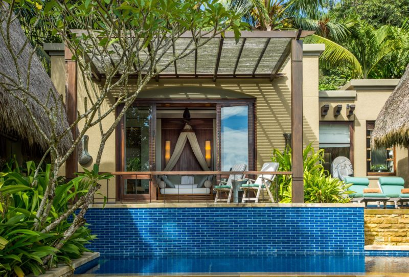 Seychelles - Mahe Island- 1554 - Maia Luxury Resort & Spa - Premier Beach Pool Villa - Exterior decking