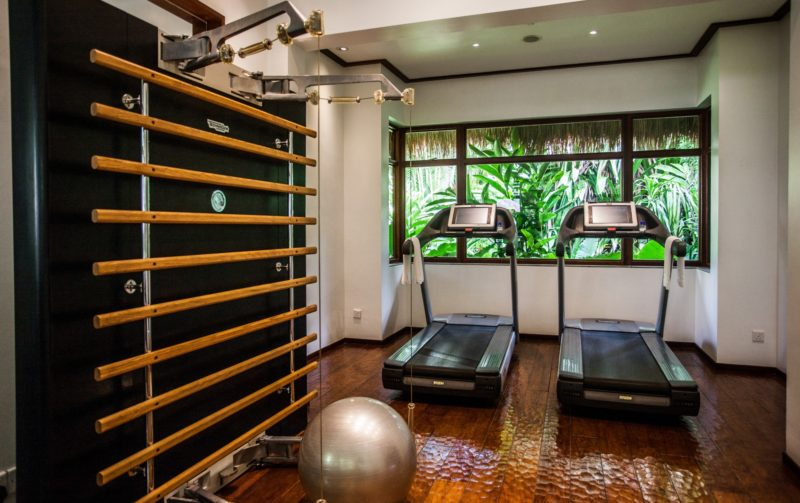 Seychelles - Mahe Island- 1554 - Maia Luxury Resort & Spa - Gym and running machines