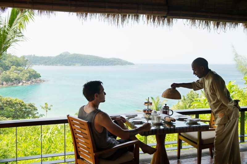 Seychelles - Mahe Island- 1554 - Maia Luxury Resort & Spa - Ocean View Pool Villa - Villa Butler Service on the decking