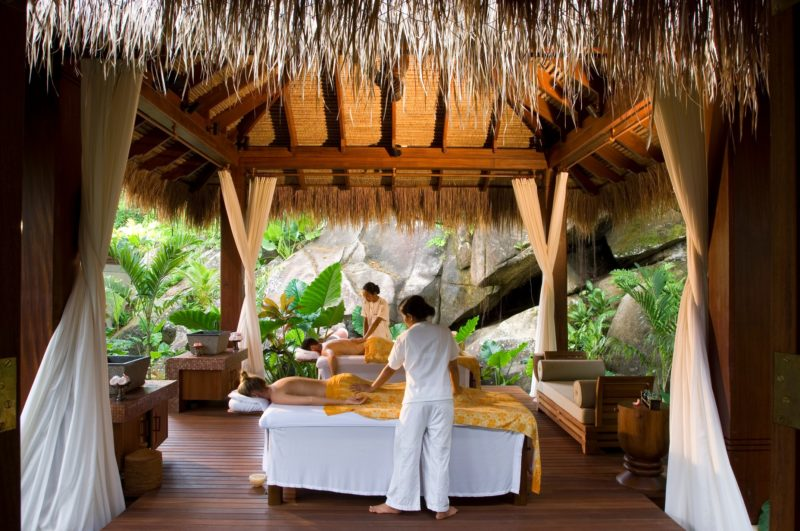 Seychelles - Mahe Island- 1554 - Maia Luxury Resort & Spa - Spa Treatment Room - Massage