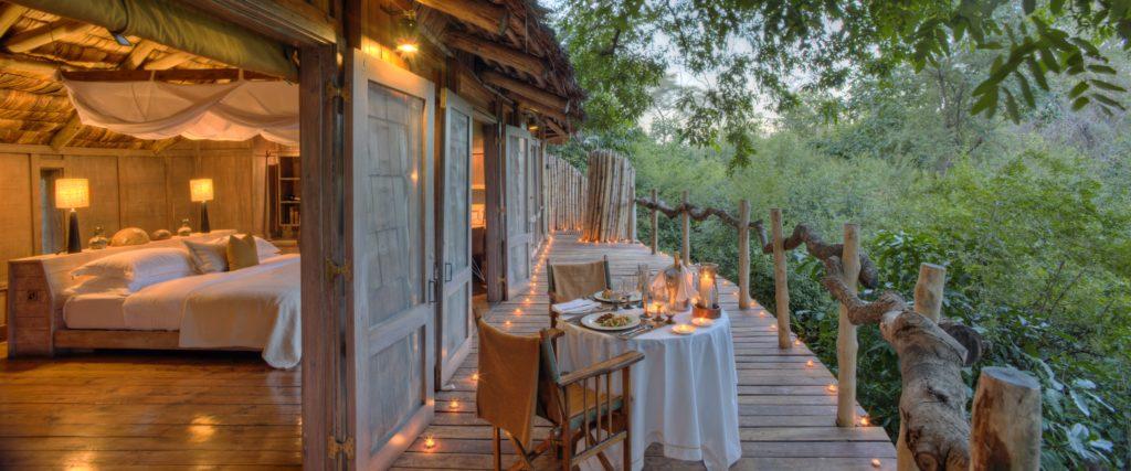 Tanzania - Lake Manyara National Park - 1568 - Lake Manyara Tree Lodge Decking Views