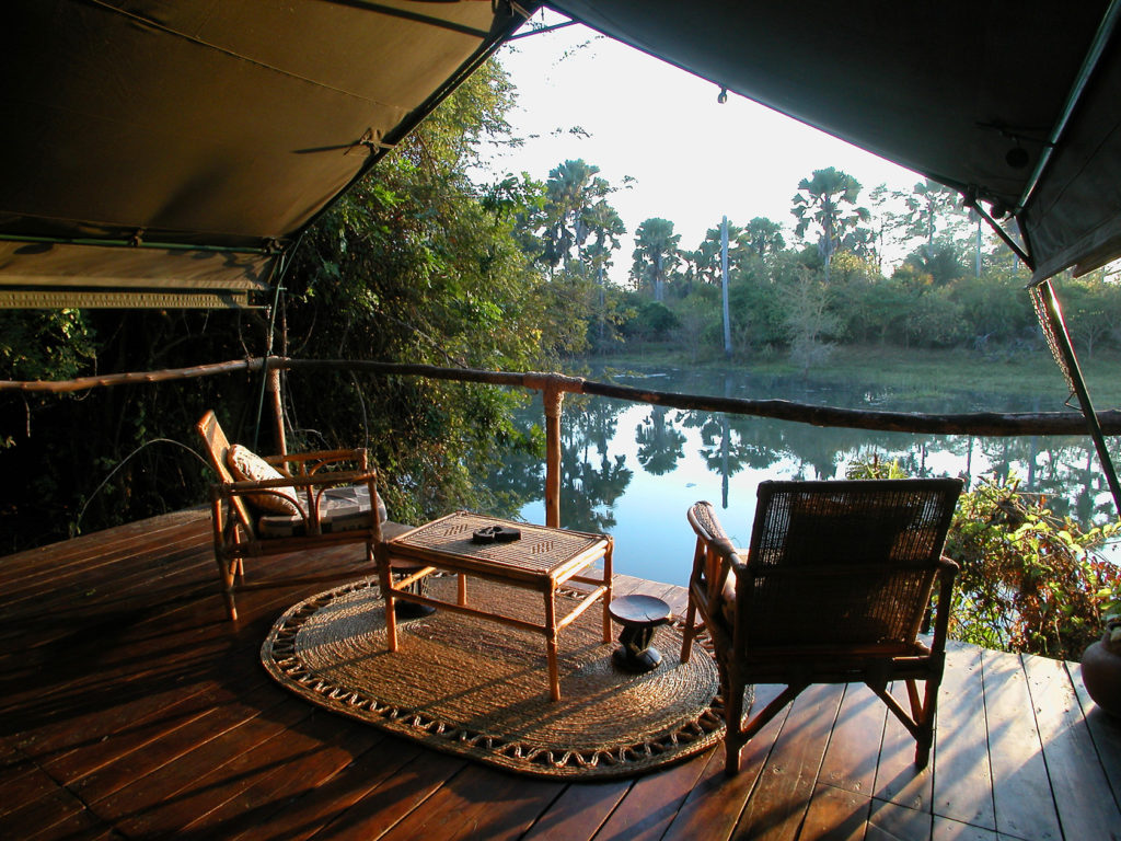 Malawi - Liwonde National Park - 1564 - View of River from Decking