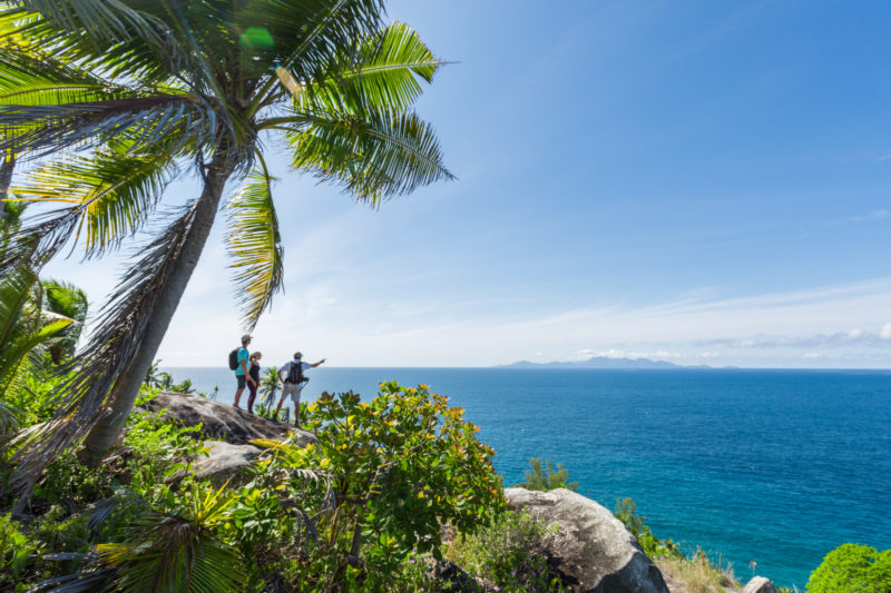 Seychelles - North Island - 1554 - North Island Resort - Island Bernike Hike - Sea views