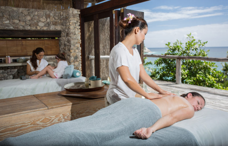 Seychelles - North Island - 1554 - North Island Resort - Family spa treatments with a view