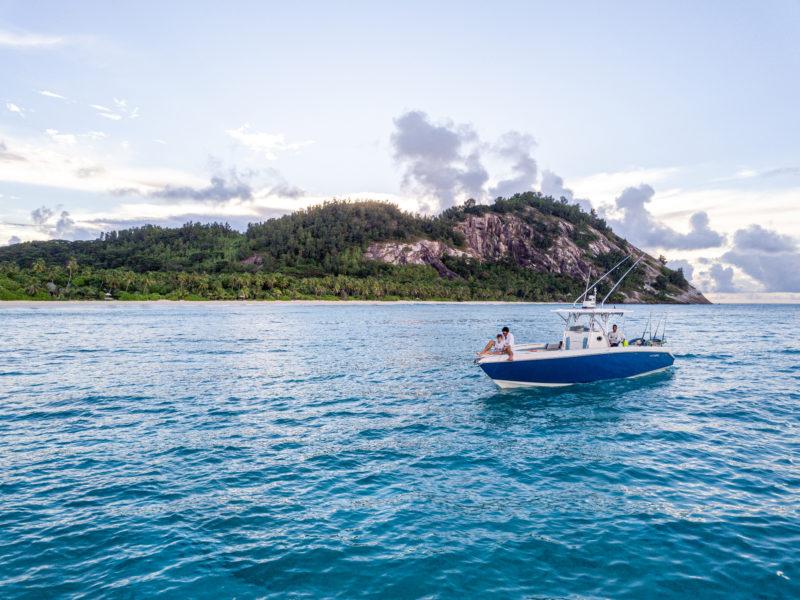 Seychelles - North Island - 1554 - North Island Resort - Fishing off North Spray Boat Excursion