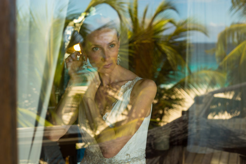 Seychelles - North Island - 1554 - North Island Resort - Reflections On Her Wedding Day