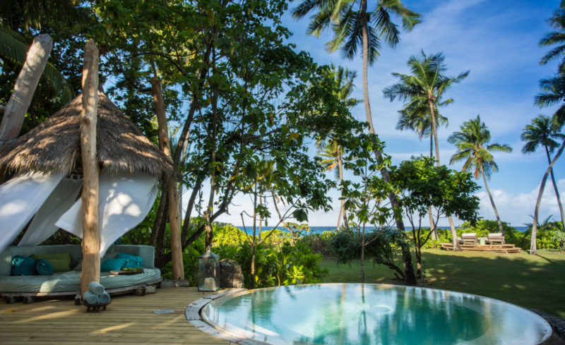 Seychelles - North Island - 1554 - North Island Resort - Presidential Villa - Private sala and pool
