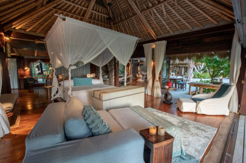 Seychelles - North Island - 1554 - North Island Resort - Presidential Villa - Interior and lounge