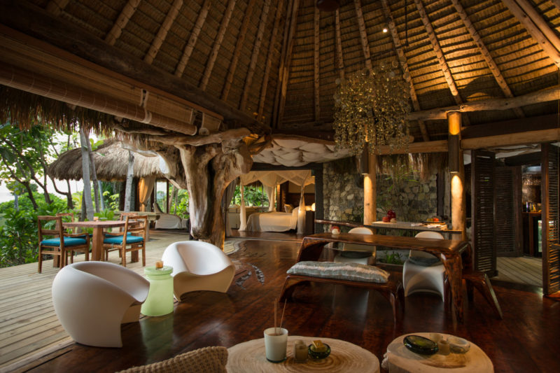 Seychelles - North Island - 1554 - North Island Resort - Presidential Villa - Lounge area seating and decking