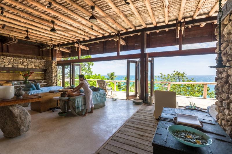 Seychelles - North Island - 1554 - North Island Resort - Spa massage with views