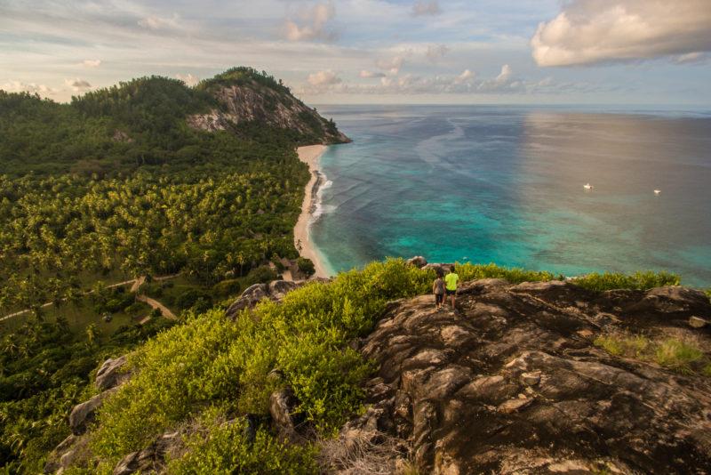 Seychelles - North Island - 1554 - North Island Resort - Spa Hill Trail Walk - Island views