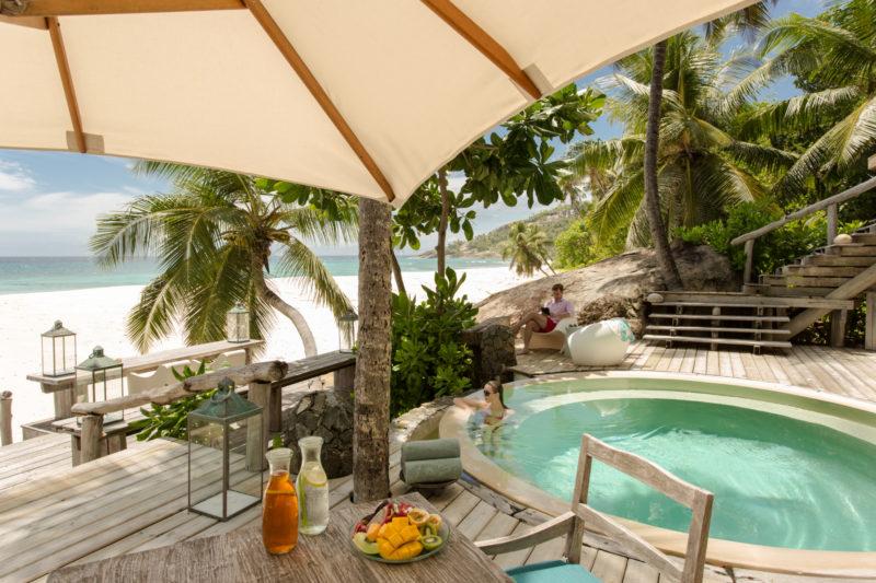 Seychelles - North Island - 1554 - North Island Resort- Villa North Island - Pool views and seating