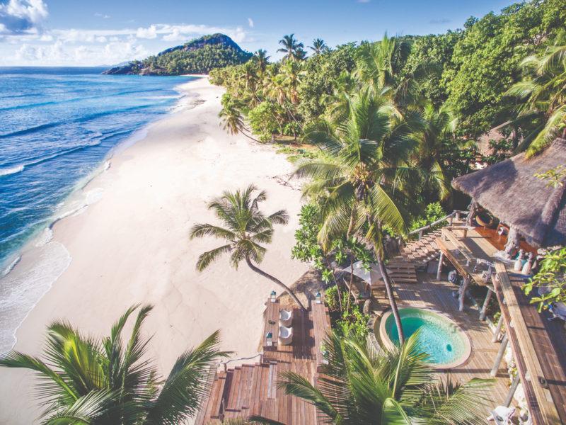 Seychelles - North Island - 1554 - North Island Resort - Villa North islands expansive deck and beach views