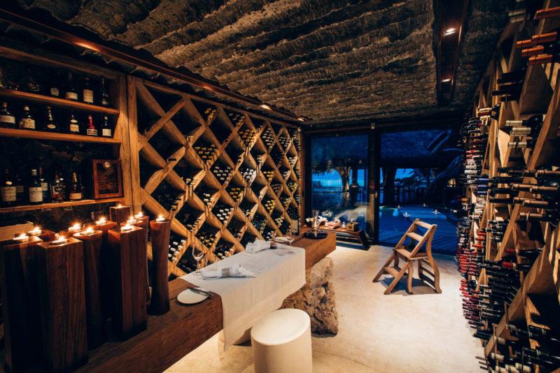 Seychelles - North Island - 1554 - North Island Resort - Wine Cellar Selection