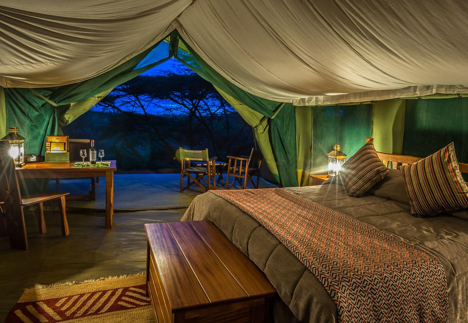 Kenya - 12890 - Ilkeliani Camp Masai Mara Kenya - Tented Room