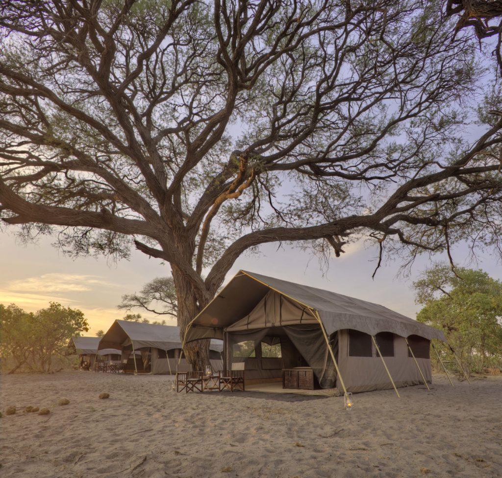 Botswana - Savuti-Chobe National Park - 1553 - andBeyond Savute Under Canvas at dusk