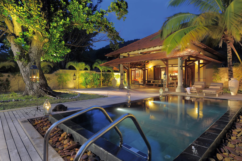 Seychelles - Saint Anne Island - 1554 - Sainte Anne Resort Plunge Pool