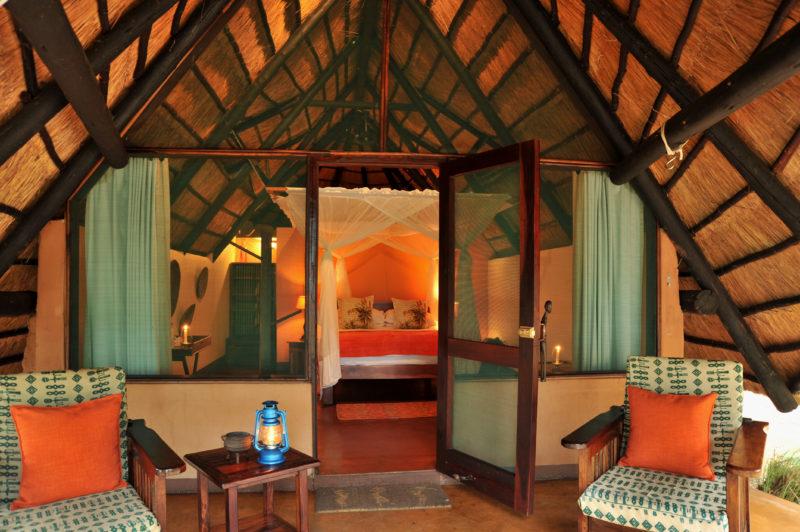Zimbabwe - Victoria Falls - 1564 - Interior of Family Room