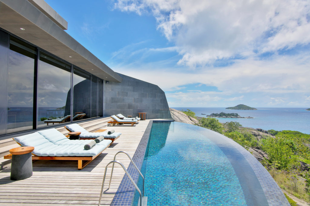 Seychelles - Felcite Island - 1554 - Senses Zil Pasyon Infinity Pool