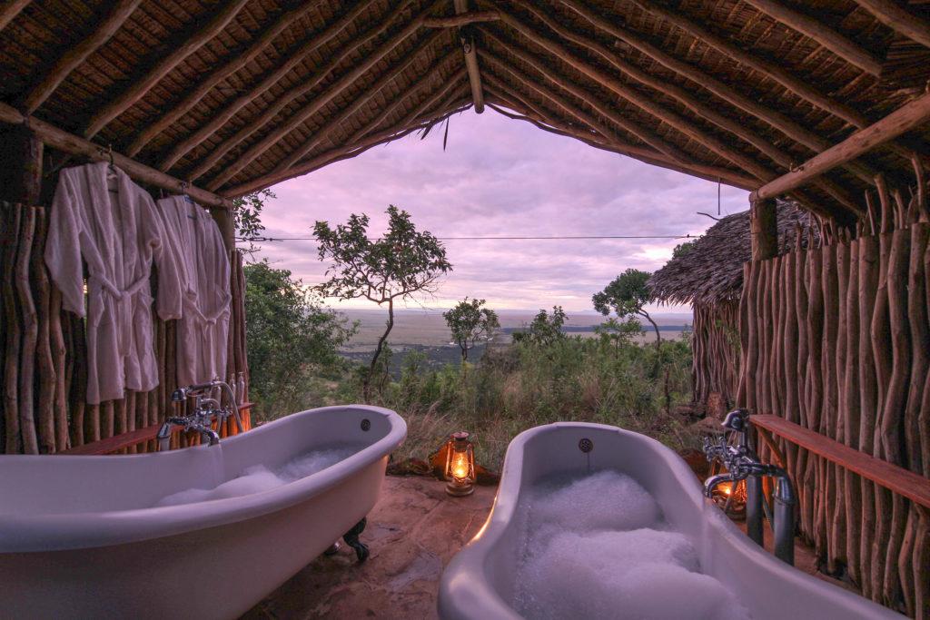 Kenya - 12890 - Kilima Camp Mara North Conservancy Kenya - Bathtub views