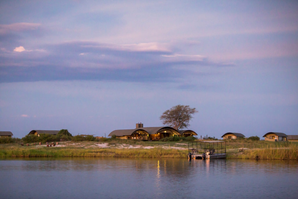 Namibia - Chobe River Front - 1552 - River view of Lodge
