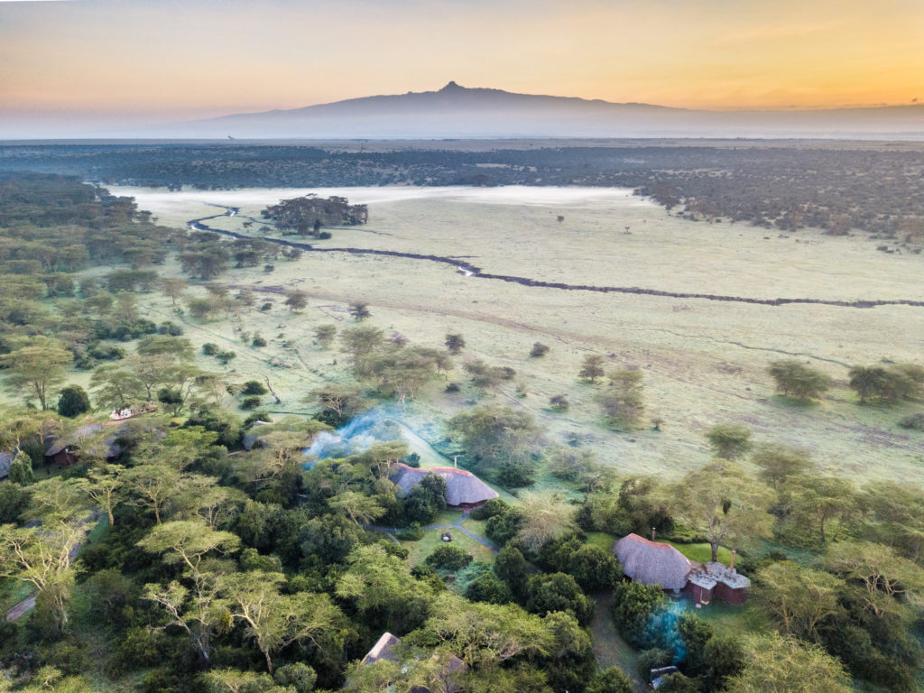 Kenya - 12890 - Solio Lodge from above