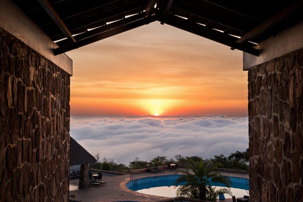 Rwanda - Akagera National Park - 1568 - Mantis Akagera Game Lodge sunset