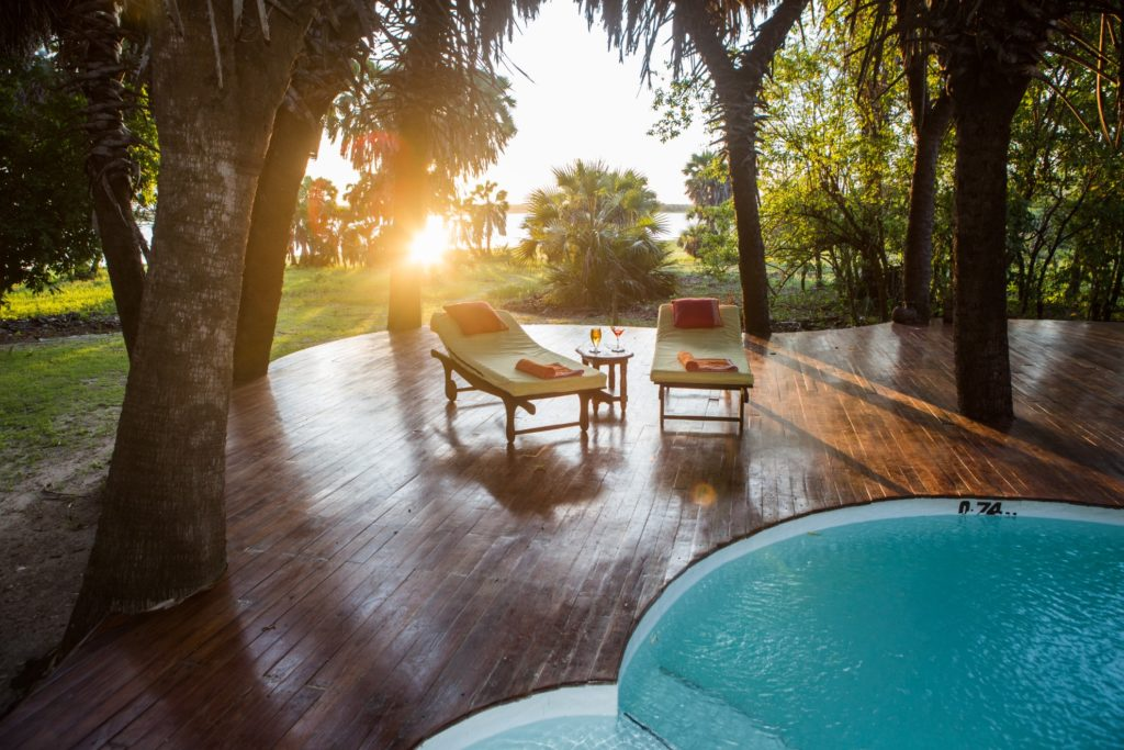 Tanzania - Selous Game Reserve - 1568 - Plunge Pool and Decking