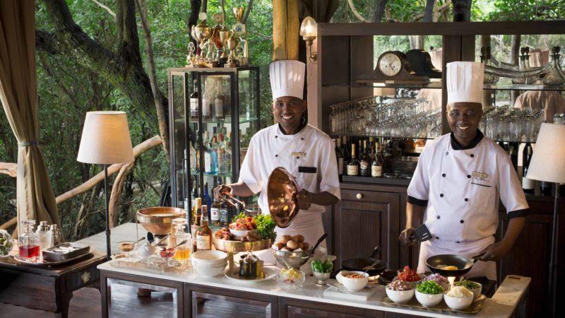 Kenya - Masai Mara - 12890 - andBeyond Bateleur Camp chefs