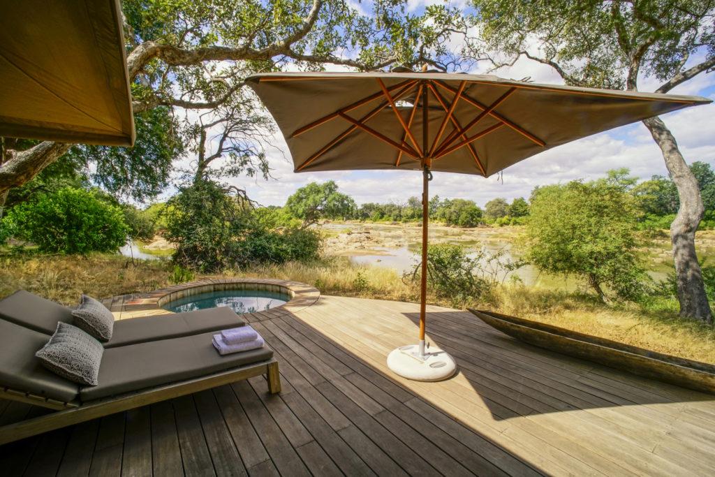 Botswana - Central Tuli Block - 1553 - Koro River Camp decking