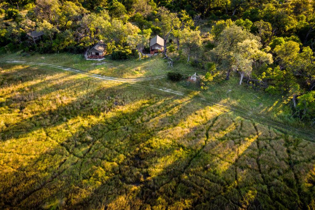 Botswana - Okavango Delta - 1553 - Sanctuary Stanley's Camp from above