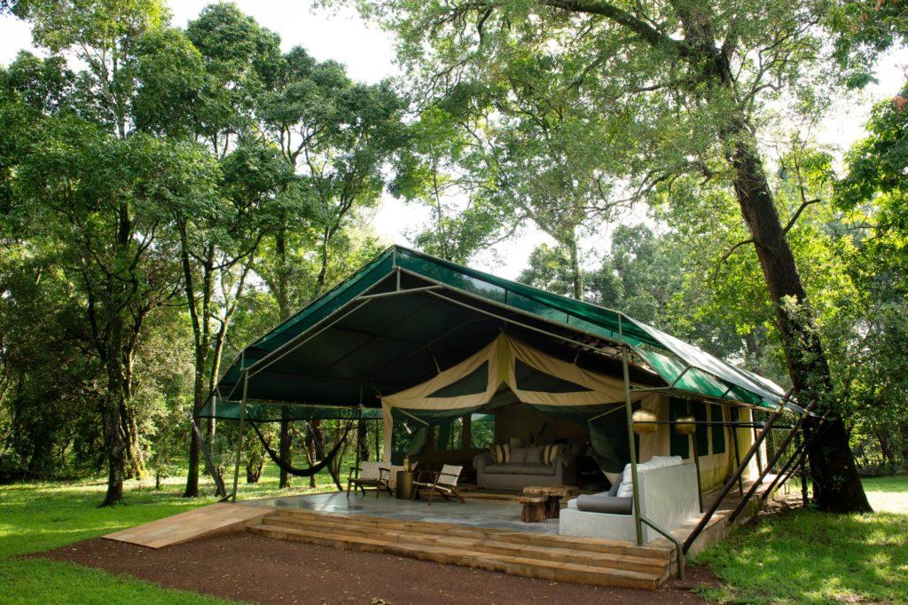 Kenya - Masai Mara National Reserve - 12890 - Outside Tented Accommodation