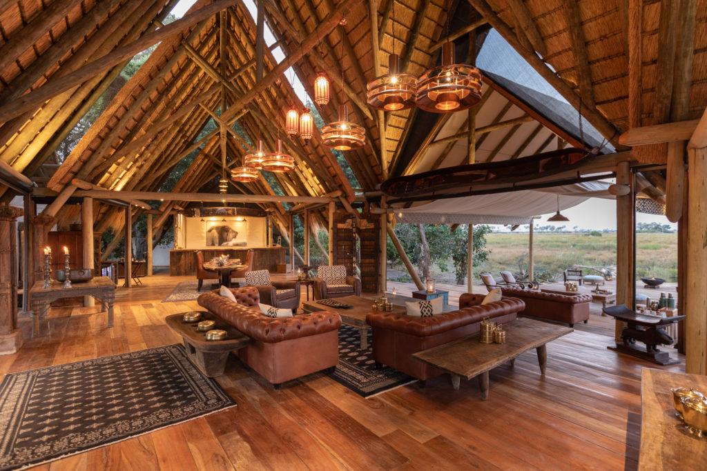 Botswana - Selinda Reserve - 1553 - Selinda Camp Main Common Area