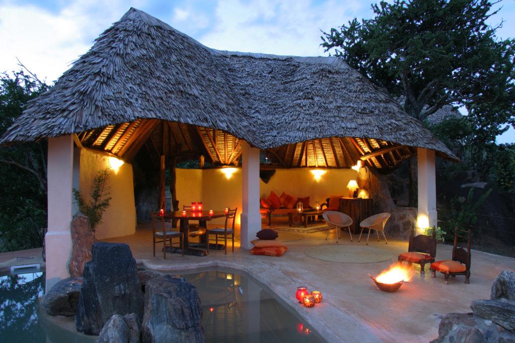Kenya - Loisaba Conservancy - 12890 - Sabuk Lodge Cottage and Pool