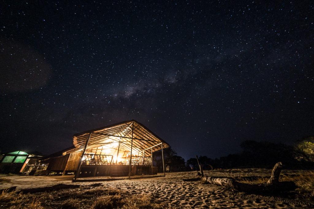 Botswana - Savuti-Chobe National Park - 1553 - Camp Savuti at night