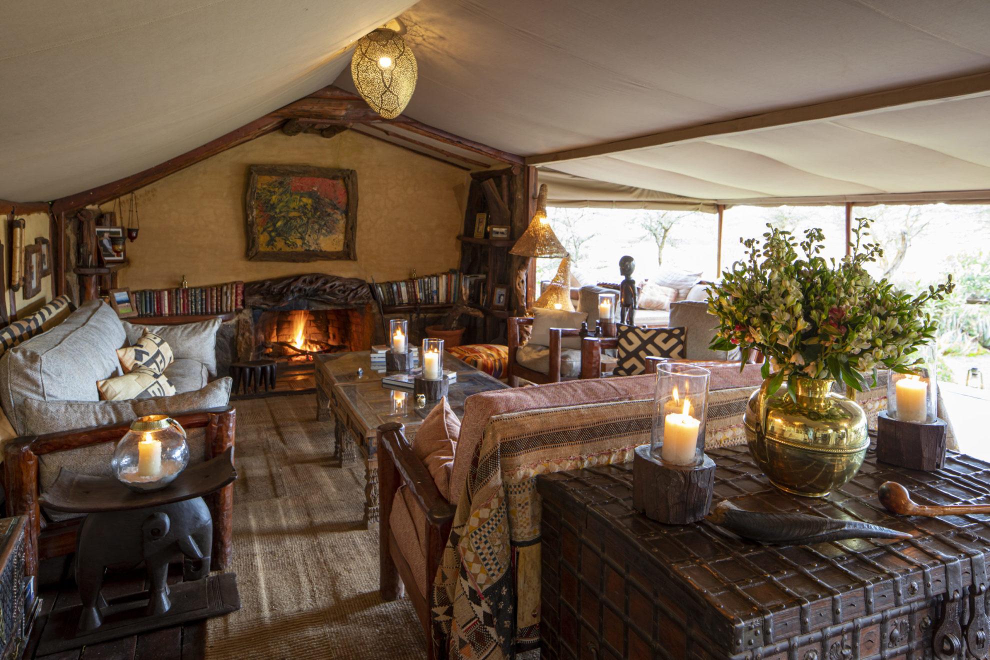 Kenya - Laikipia - 12890 - Camp Lounge