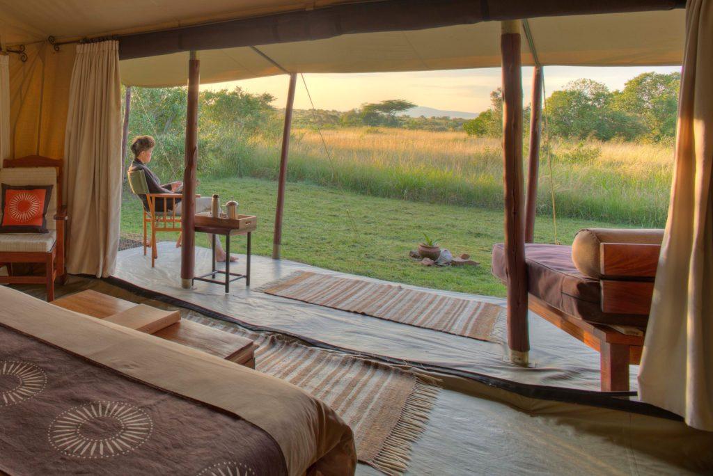 Kenya - Mara Naboisho Conservancy - 12890 - Tent View