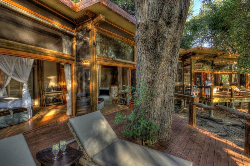 Botswana - Okavango Delta - Camp Okavango - Luxury Family Suite - Outside Decking