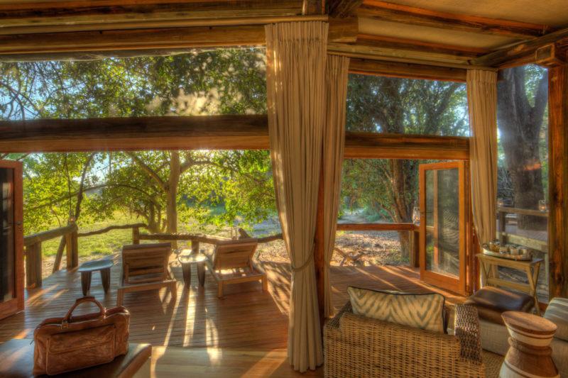 Botswana - Okavango Delta - Camp Okavango - Luxury Family Suite - Seating views