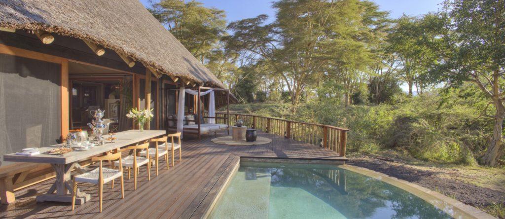 Kenya - Tsavo West National Park - 12890 - Outdoor Swimming Pool