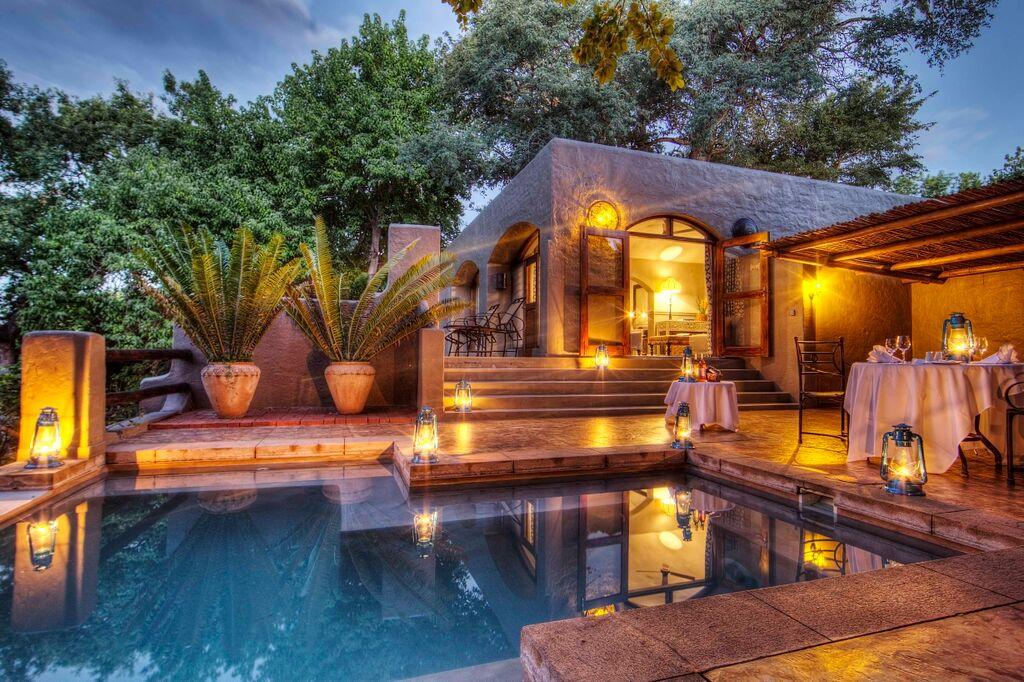 Botswana - Chobe River Front - Chobe Game Lodge - Honeymoon Suite Pool