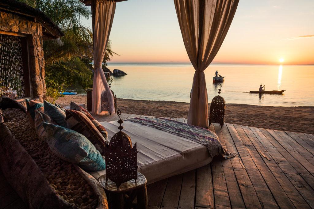Malawi - Likoma Island - 1564 - Views on Decking