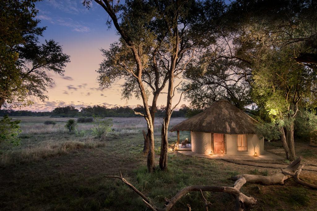 Khwai Bush Camp Botswana African Bush Camps View at Dusk