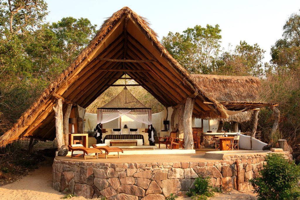 Tanzania - Selous Game Reserve - 1568 - Kiba Point Selous Seating Area