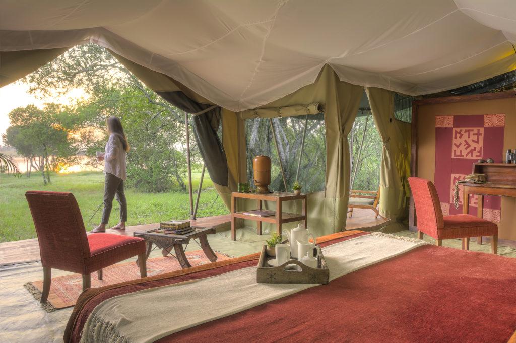 Kenya - Laikipia - Kicheche Laikipia Camp - Tent interior