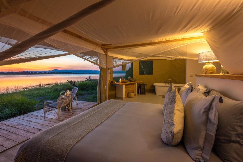 Malawi - Liwonde National Park - 1564 - Double Tent