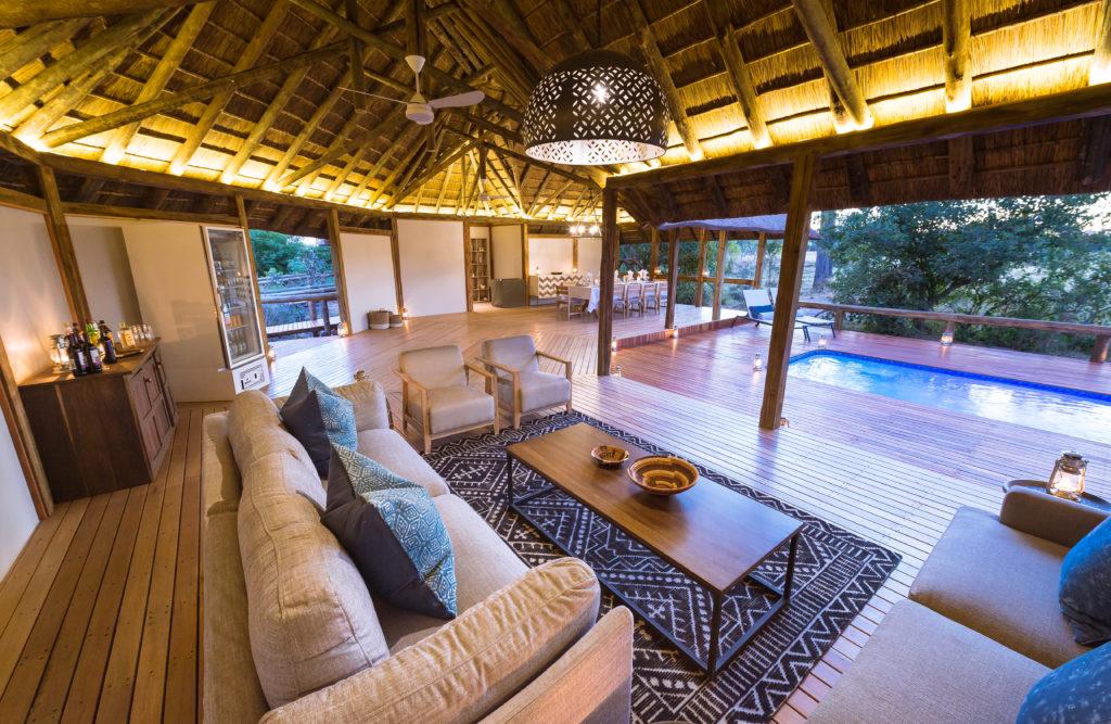 Botswana - Moremi Game Reserve - 1553 - Kwando Splash Enclave Seating Area