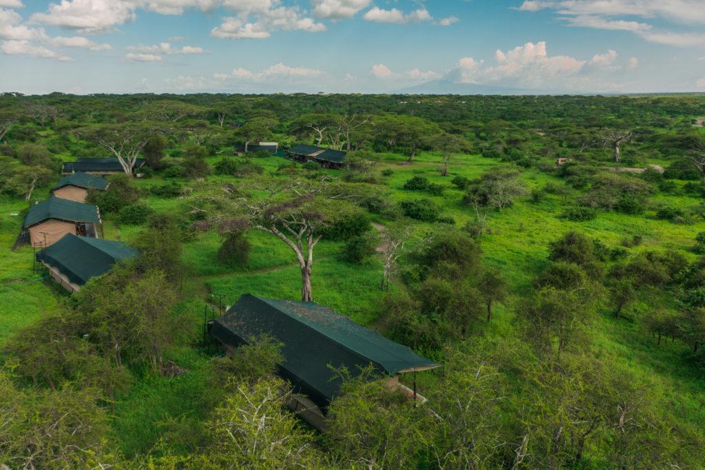Tanzania - 17467 - lemala ndutu - aerial